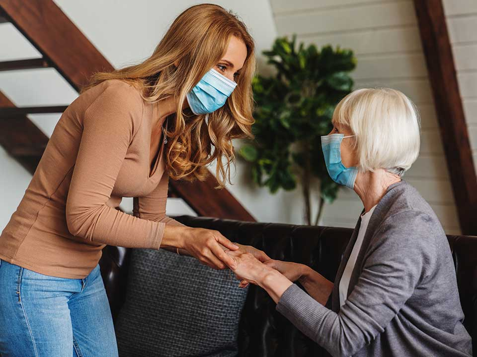 personal aide helping a person